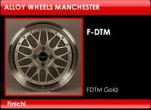 FDTM Gold Alloy Wheels