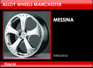 Finichi Messina Alloy Wheels
