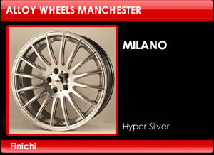 Finichi Milano Alloy Wheels
