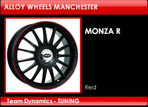 Monza RS Red Alloy Wheels